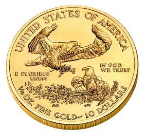 $10 1/4oz American Gold Eagle