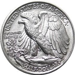 liberty half dollar 90% silver