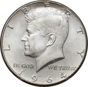 Kennedy Half Dollar 90% silver