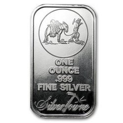 1oz Generic .999 Silver Rounds and Ingots