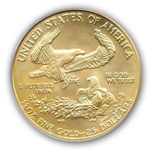 $25 1/2oz American Gold Eagle