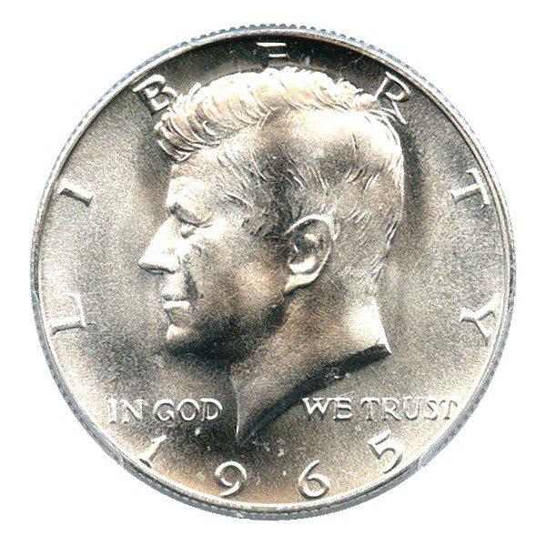 Kennedy Half Dollar 40% silver