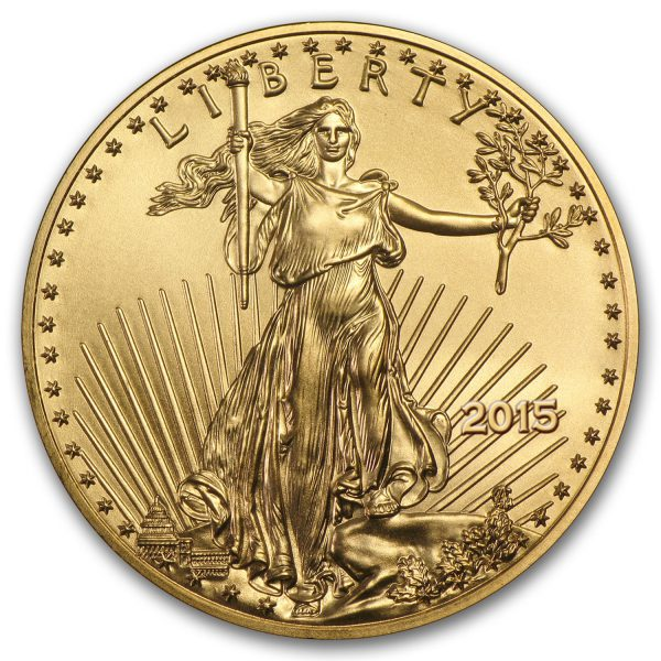 2015 $5 American Gold Eagle