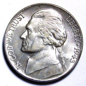 Jefferson Silver War Nickel