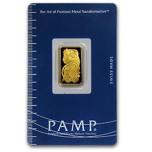 5g Pure .999 Gold Bar