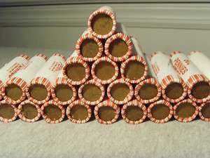 1940's-50's Wheat Pennies Roll (50)