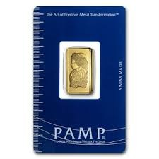 2.5g Pamp Suisse .9999 Gold Bar
