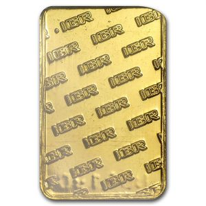 IGR 2.5 Gram .9999 Gold Bar with COA