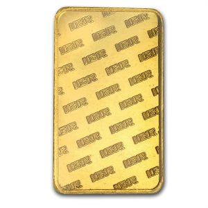 IGR 10 Gram .9999 Gold Bar with COA