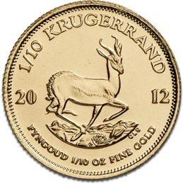 1/10 oz South African Gold Kruggerrand