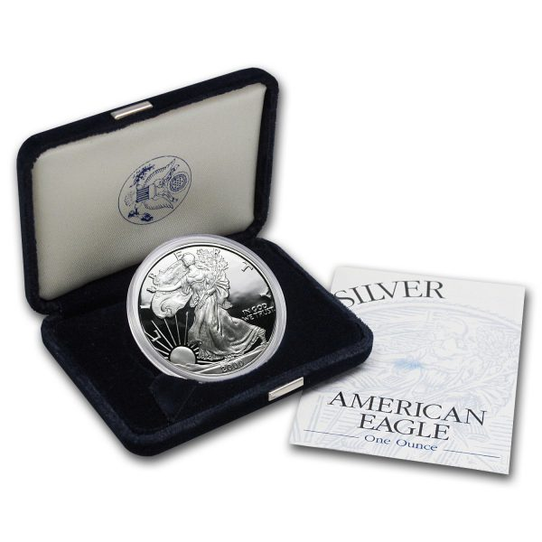 2000-P Proof Silver Eagle US Mint