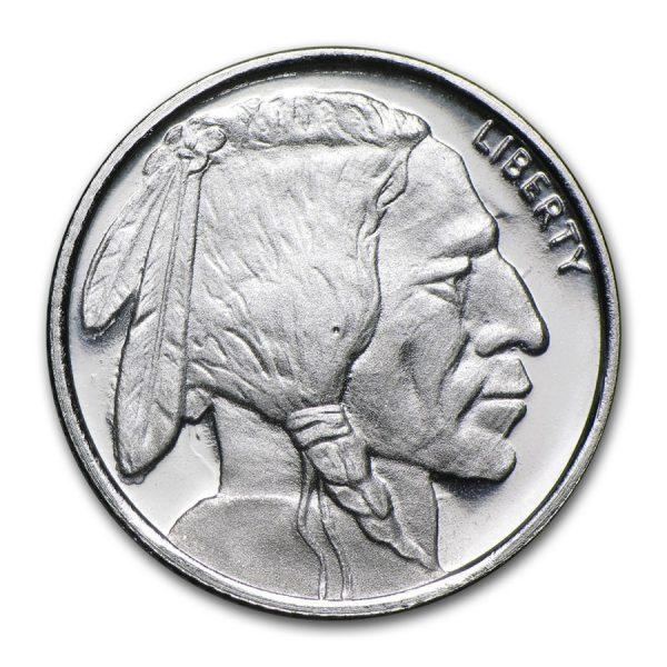 1/10 oz Buffalo .999 Silver Round