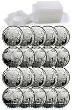 1oz Generic .999 Silver Rounds