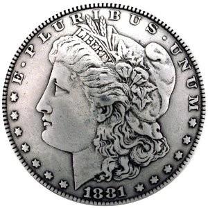 Pre-1921 Morgan Silver Dollar