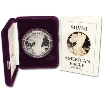 1988-S Proof $1 Silver Eagle US Mint