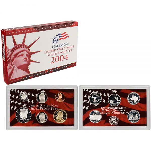 2004-S US Silver Proof Set