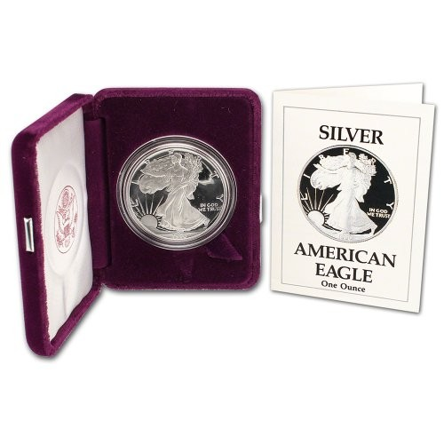 1990-S Proof $1 Silver Eagle US Mint