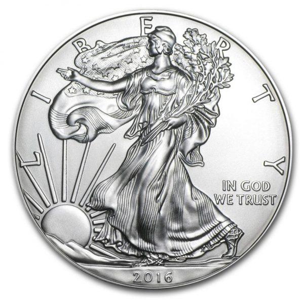 2016 $1 American Silver Eagle