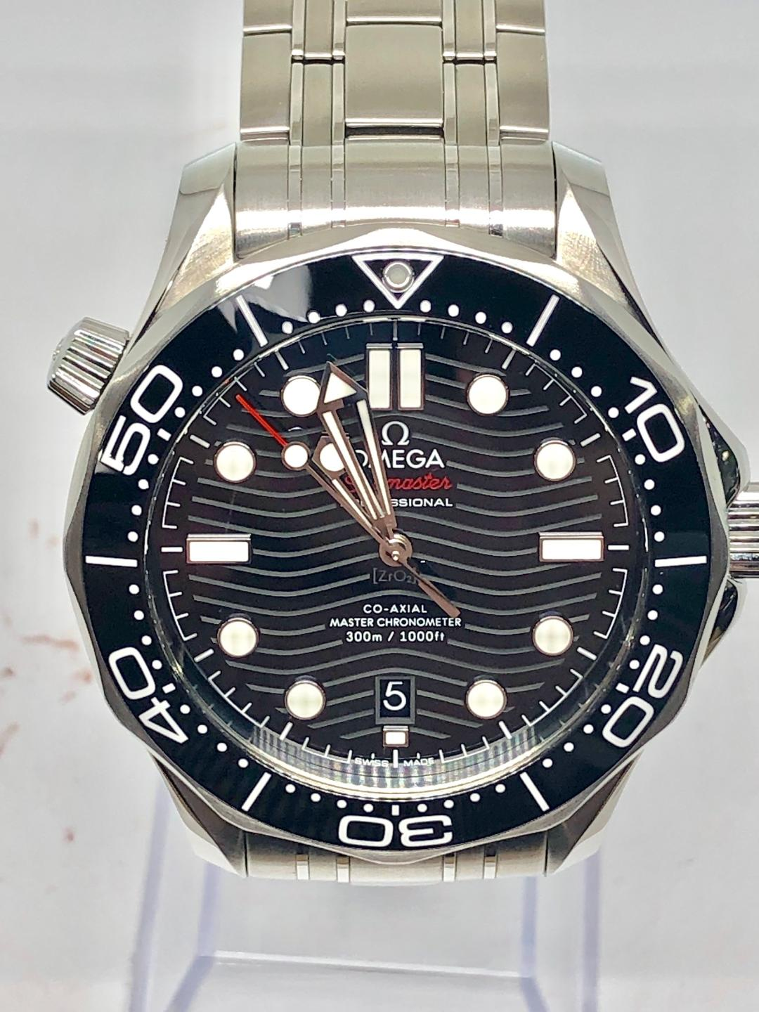 2019 Omega Seamaster Diver 300m Complete Box Amp Papers 5